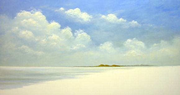 acrylic painting demo 2 Морской пейзаж