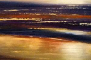 oil painting demo 8 300x200 Как рисовать закат. Урок от Джины де Горно