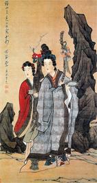 portret Жанры и стили в китайской живописи
