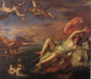 Tician 300x263 История масляной живописи