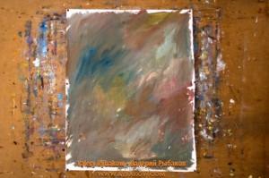 flowers art lesson 2 300x199 Как нарисовать букет цветов маслом